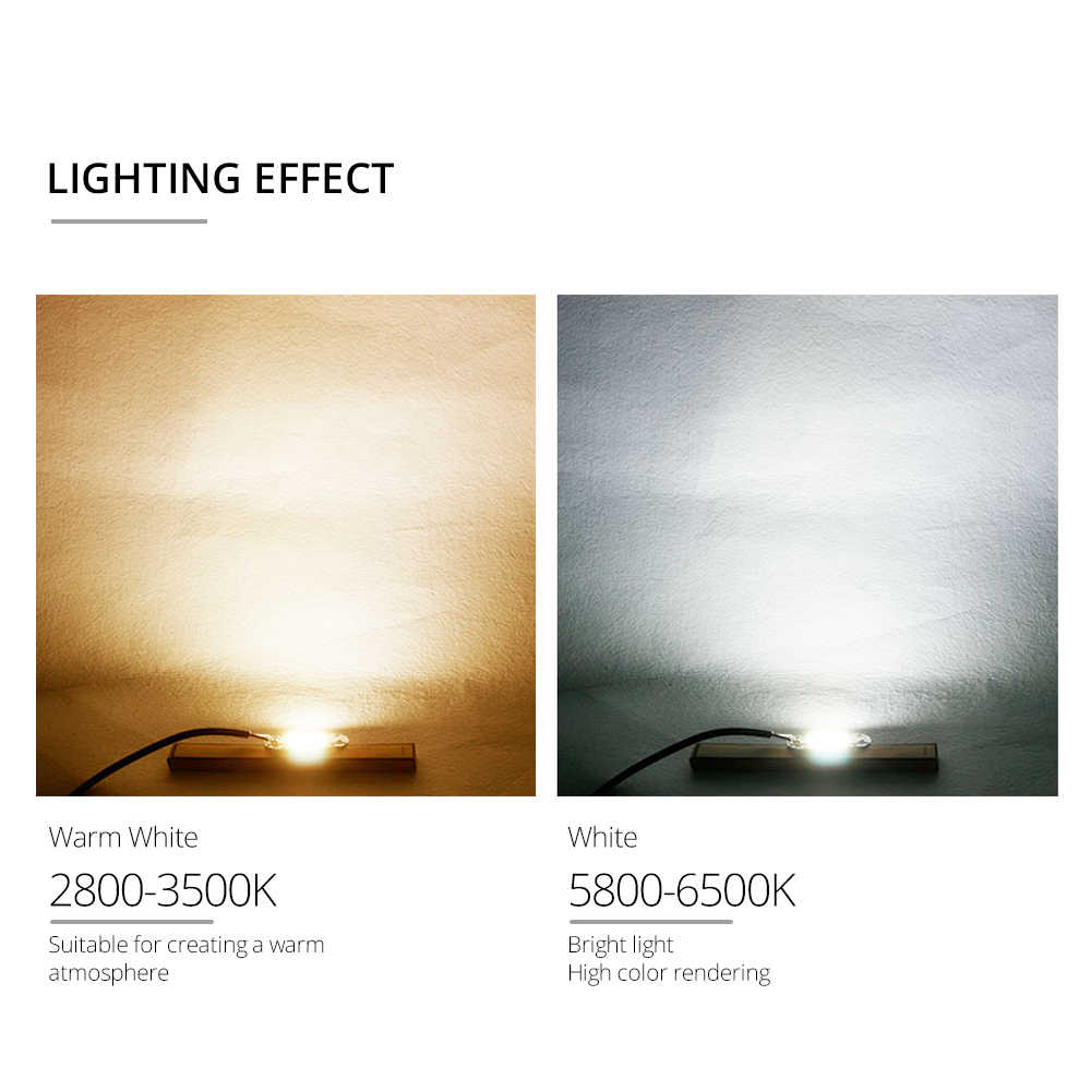 White Warm White LED Chips DC 12V 36V High Power LED COB Projector Matrix Chip for Spotlight Floodlights 3W 10W 20W 30W 50W 100W