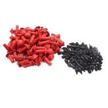 Motorcycle meridian tyre gun mushroom patch vacuum tire rubber bullet mushroom patch  red bullutes 90 pc and black bullets 90 pc