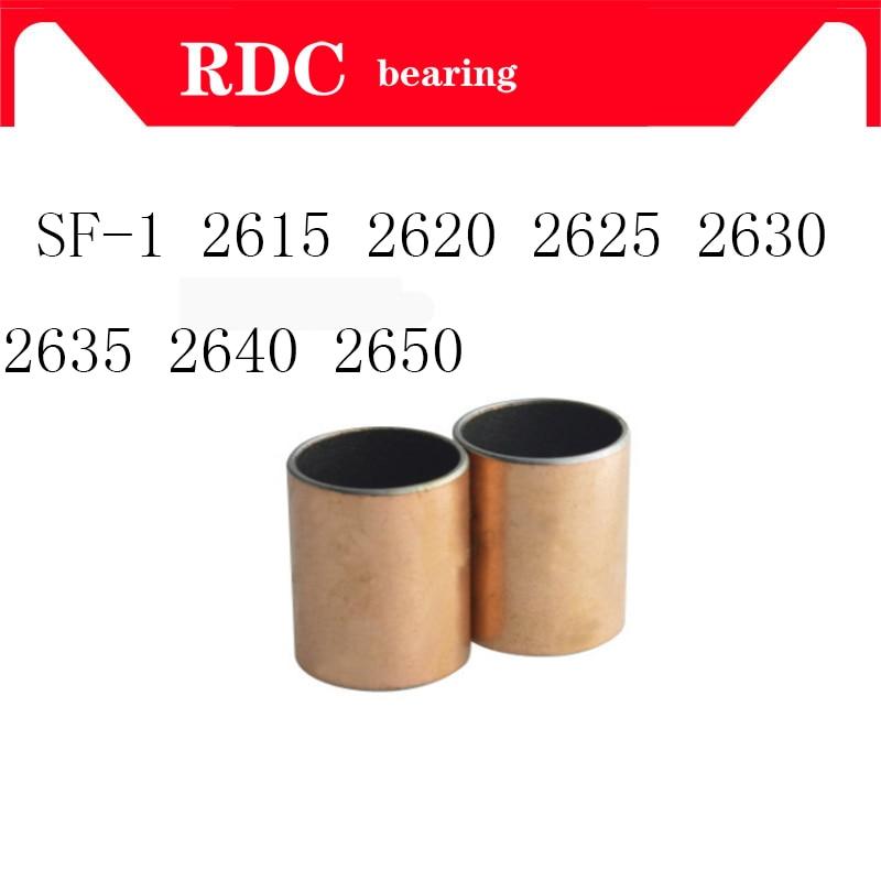 New 10pcs SF-1 1830 Self Lubricating Composite Bearing Bushing Sleeve 20*18*30mm