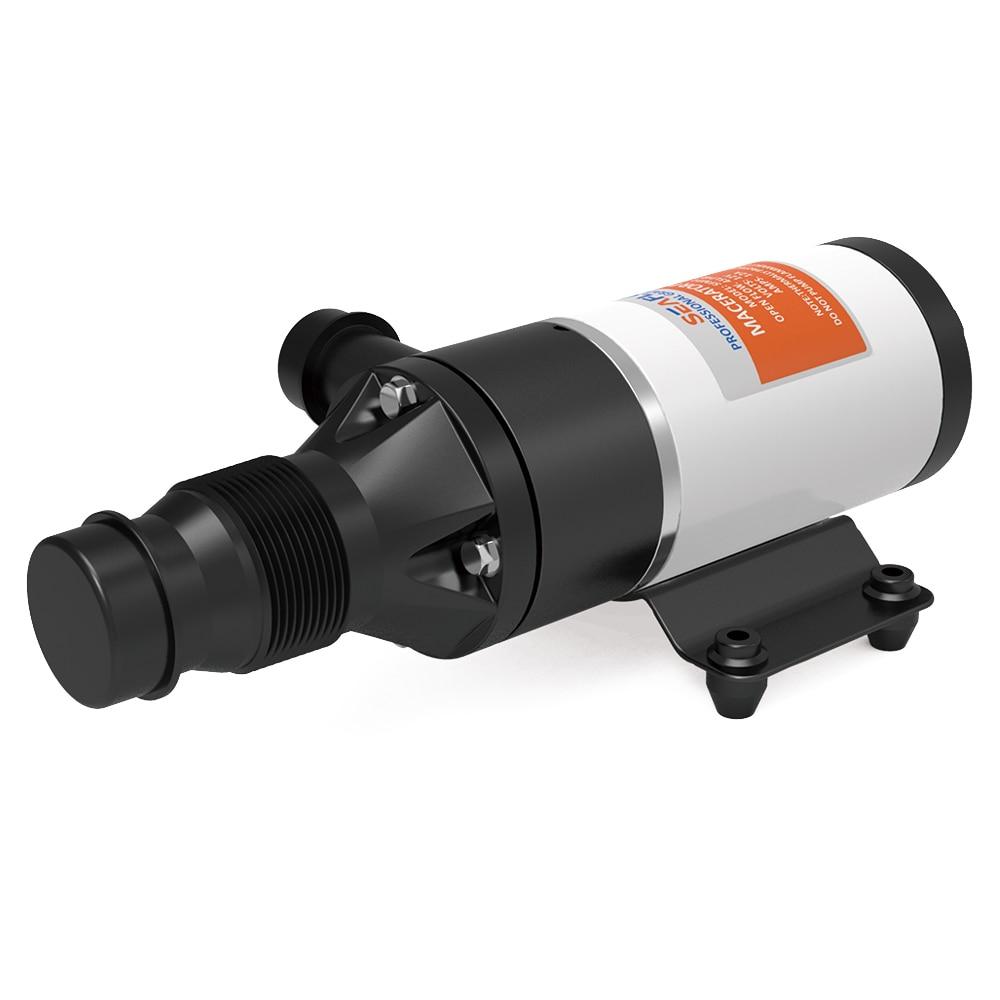 SEAFLO Efficient Macerator Pump 12V Waste Water Pumps Quick Release 45 LPM 12GPM Boat RV Marine Toilet Washroom