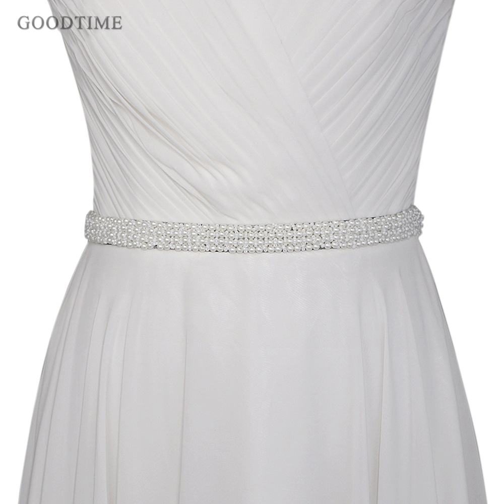 Fashion Wedding Belt In Bridal Blets Pearl Sash Beaded Bride Dresses Accessories Pearl Belt Wedding Belt For Party Girl Dress Up