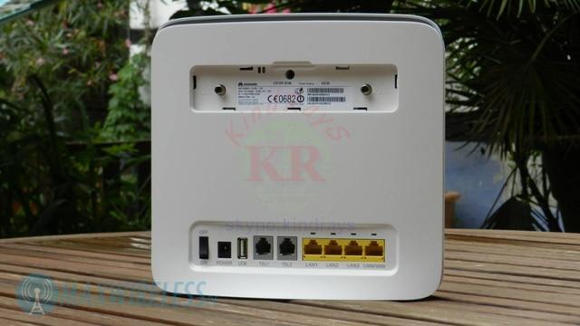გახსნილია Huawei e5186 E5186s-22a 4g 300Mbps LTE - ქსელის აპარატურა - ფოტო 5