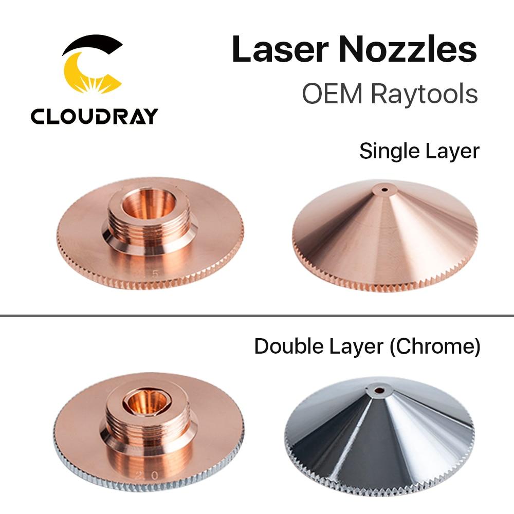 Precitec Nozzle 1.0-3.0 Double Layers Dia.32mm for Precitec 1064nm FIBER Laser Cutting Head