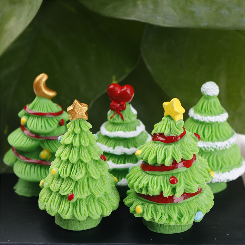 2PCS Miniature green plant In pot for dollhouse decoration home decor  LY
