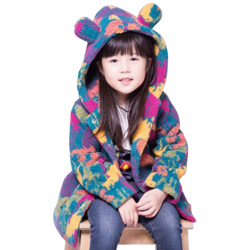 2018 Children Clothing Kids Girl Colorful Velvet Coat Baby Hoodies Thicken Baby Girls Jacket Autumn And Winter Age for 3-14 Yrs трусы стринги женские vis a vis цвет черный dl1104 размер xs 42 page 9