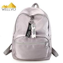 2017 Для женщин нейлон Рюкзаки для подростков Обувь для девочек Колледж рюкзак сплошной Цвет для отдыха школьная сумка большой Ёмкость Mochila XA2058C