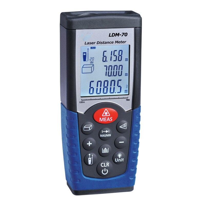 70m/230ft laser distance meter distance measurer laser meter laser tape measure cp 3007 1 8 lcd ultrasonic distance measurer with red laser pointer 1x6f22