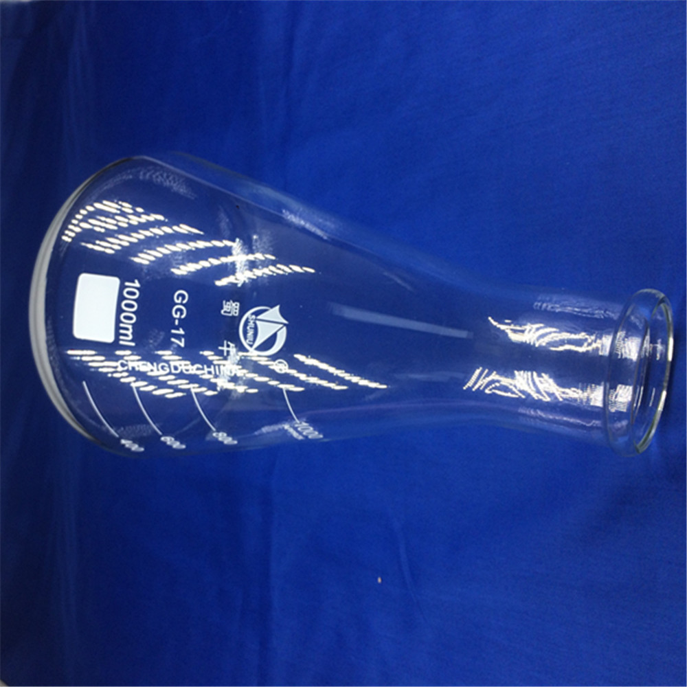 цены 1000ml,Glass Erlenmeyer Flask,glass conical flask,wide neck ,Laboratory glassware