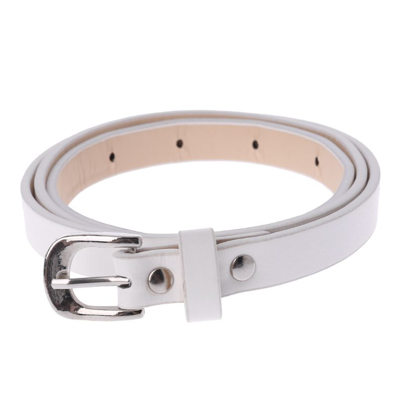 New Hot Sale Kids PU Leather Belts Children Boys Girls Leisure Waist Strap