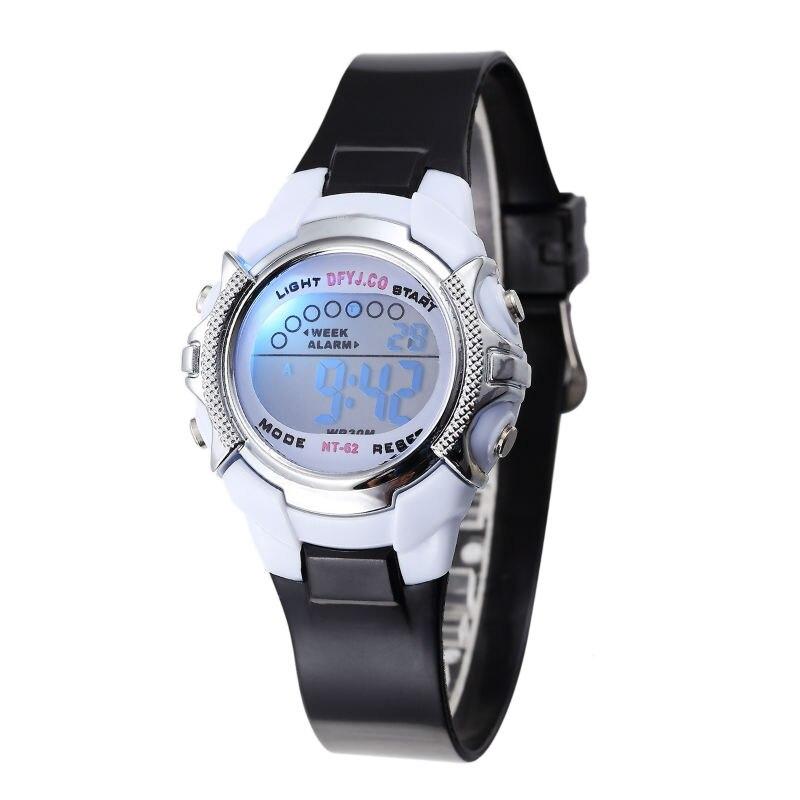 Children Watch Outdoor Sports For Kids Boy Girls LED Digital Alarm Stopwatch Waterproof Wristwatch Children's Dress Watches
