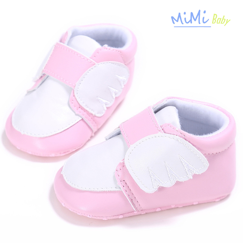 Baby girl Shoes Spring and Autumn boy Wing PU Synthetic Shallow ... debb178ccb99