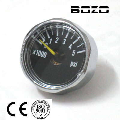peralatan cat air pcp 5000psi Paintball Micro Gauge Baru