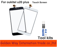 Angcoucoux TouchScreen For Oukitel U20 PlusTouch Screen Sensor Digitizer For Oukitel U20 Plus Touch Replacement Free