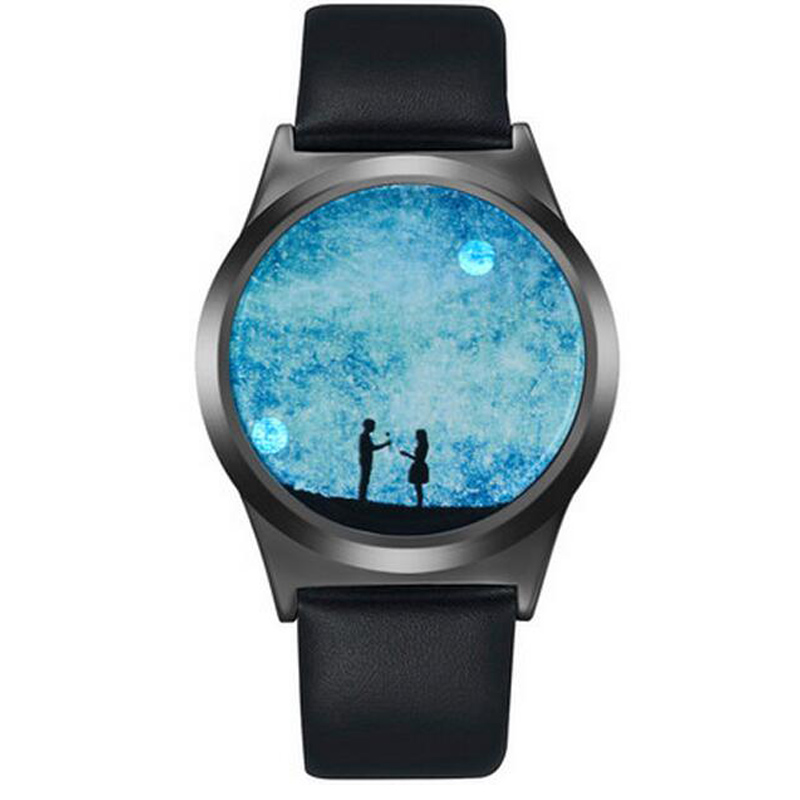 Creative Gswp Brand Touch Screen Led Watch Men And Women
