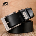 2017 Real Men Ceinture Cowhide Genuine Leather Belts for Men Brand Strap Male Pin Buckle Fancy Vintage Jeans Cowboy luxury Belt
