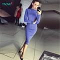 TAOVK Русский стиль дизайн новая мода 2017 Верхняя Одежда Dress