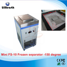 Russia tax free minimum minus 150 degree for edge s6 s7, bulk FS-10 mini LCD screen freezing separating machine