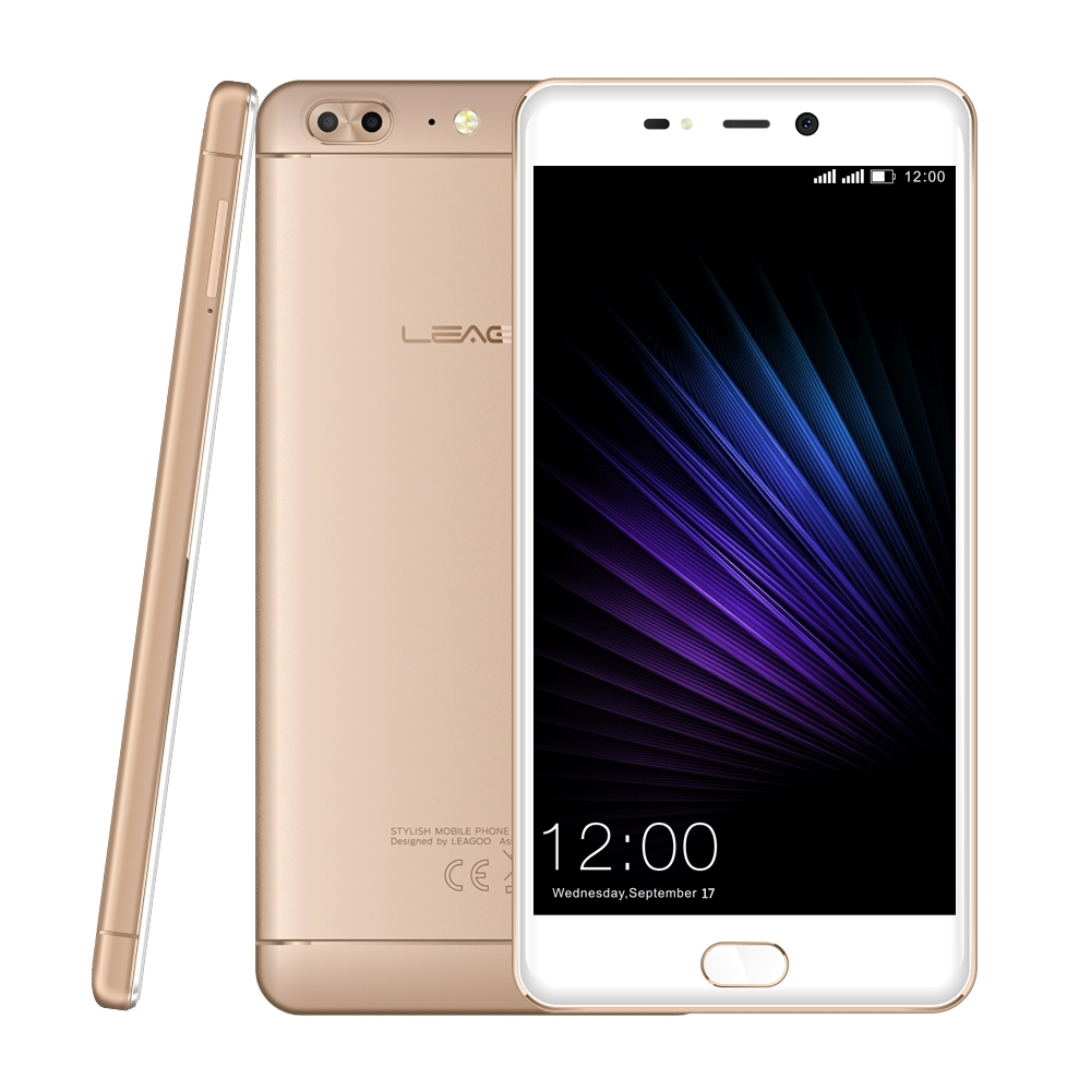 "Original Leagoo T5 LTE 4G Mobile Phone Android 7.0 MT6750T Octa Core 5.5""FHD 4GB RAM 64GB ROM 13MP Real Dual Camera Fingerprint"