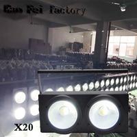 20pcs/lot 2x100W 2in1 Led Par Light Warm White For Disco Bar Ktv Night Club Cob Par light