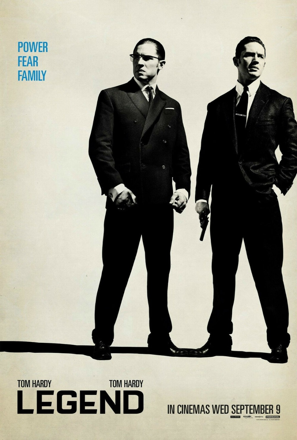 LEGEND MOVIE KRAYS/TOM HARDY/<font><b>GANGSTERS</b></font> SILK <font><b>POSTER</b></font> Wall painting 24x36inch image