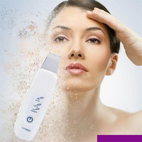 Wonder Sonic Facial Cleanser LCD Ultrasonic Skin Care Peeling Face Pore Deep Cleaning Machine Scrubber Anti age Wrinkle Remover