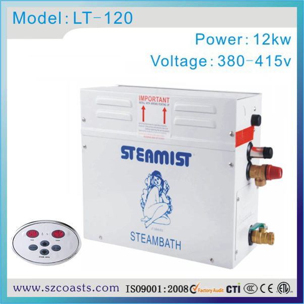 Obliging Original Steamist Manufacturer Turkish Bath 12kw Steam Generator For Wet Sauna As Effectively As A Fairy Does Back To Search Resultshome Improvement Bathroom Fixtures