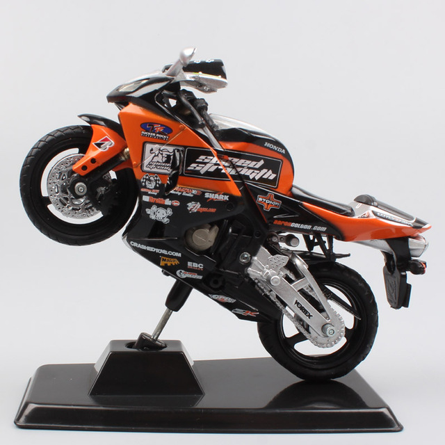new product dbe7a 6c84d Children 1 18 scale Newray Honda cbr CBR600RR racer Aaron Colton motorcycle  sports Bike diecast
