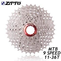 ZTTO 9s 27s prędkość Freewheel kaseta MTB rower górski części rowerowe rower 11-36T kompatybilny dla części M370 M430 M4000 M590 M3000