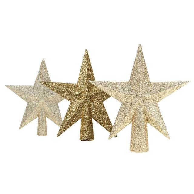 Christmas Tree Top Stars Pine Garland Sparkle Ornament Christmas Decoration for home Christmas Tree Ornament Topper Party Decor 20