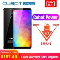 Cubot Мощность Android 8,1 Helio P23 Octa Core 6000 мАч 6 ГБ Оперативная память 128 ГБ Встроенная память 5,99 дюймов Full HD + 6 P объектив смартфон 20.0MP Celular 4G LTE