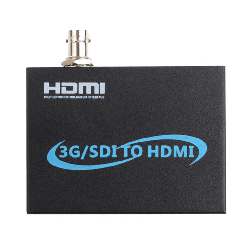High Quality HD Multimedia Interface 3G/SDI to HDMI 1080P Full HD Output Converter Adapter Black Sep19 top quality black hdmi arc adapter to hdmi