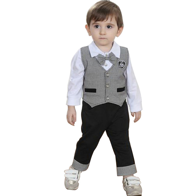 Children\'s Wedding Tuxedo Suit Boy Party Boys Attire Kids Dovetail ...