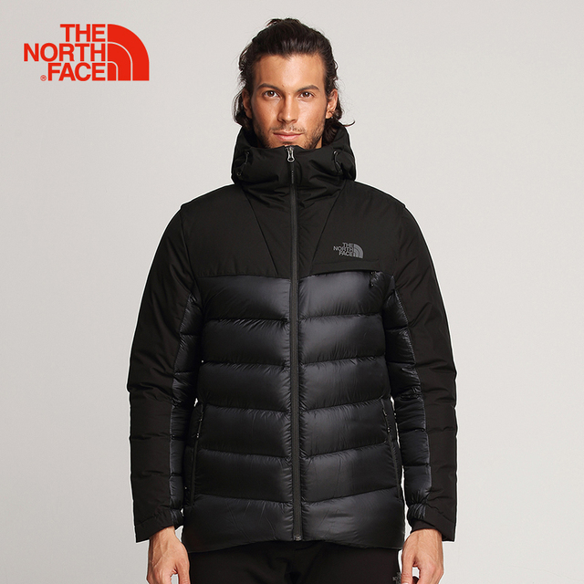 106bf61e92d The North Face Men Goose Down Jacket Winter Outdoor Sports Trekking  Comfortable Hooded Coats Thermal Windproof Clothes 3KTD