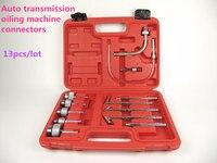 Goede kwaliteit! Transmissie Olie Bijvullen Refill Tool Kit 13 Stks Olie Vullen Adapter Set CVT Transmissie Service Adapter