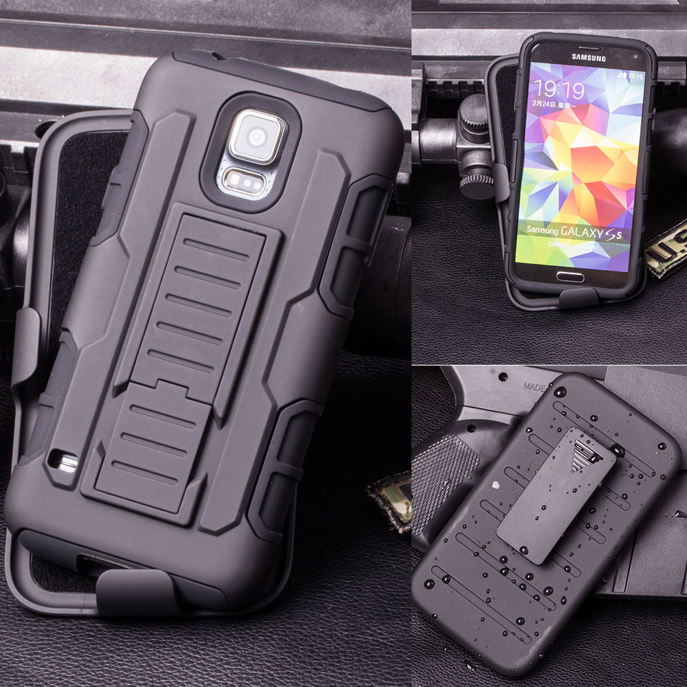 samsung galaxy s5 active case. case for samsung galaxy s5 mini i9600 active g870 cell phone cover belt clip