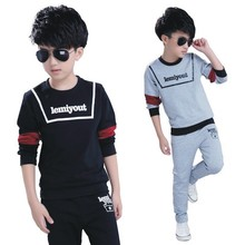 Childrens wear boys 2018 new autumn childrens set the first two sets kids clothes
