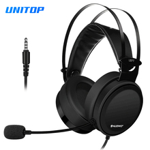 Gaming Headset Headphone PS4 Bass Casque Earphones With Microphone Mic For Xbox one New/PC Gamer Computer/Nintendo Switch/Fone gaming headset ps4 casque gamer headset xbox one headset gaming headphone for computer with microphone splitter adapter cable