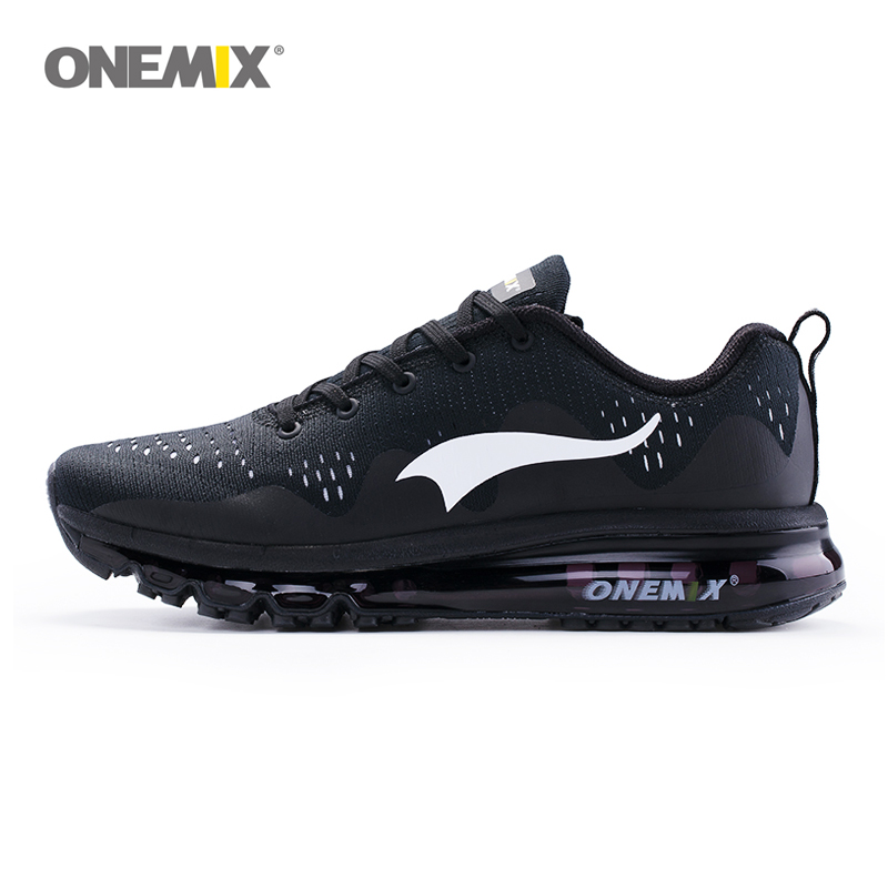ONEMIX summer men's running shoes women sports sneakers damping cushion breathable knit mesh vamp outdoor walking shoes 1223 apple summer new arrival men s light mesh sports running shoes breathable fly knit leisure comfortable slip on sneakers ap9001