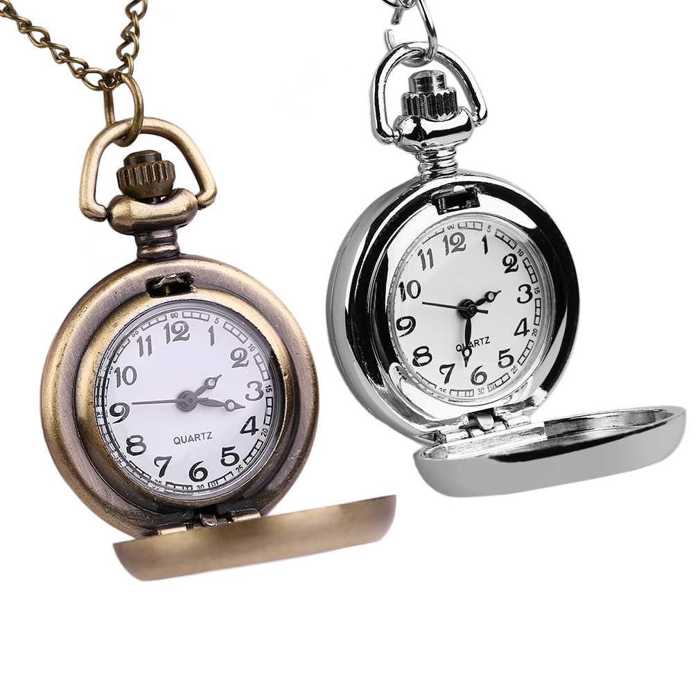 Alloy Photo Frame Quartz Pocket Watch Men Women Best Gift Promotion Item Small Size watches relogio de bolso New Arrival