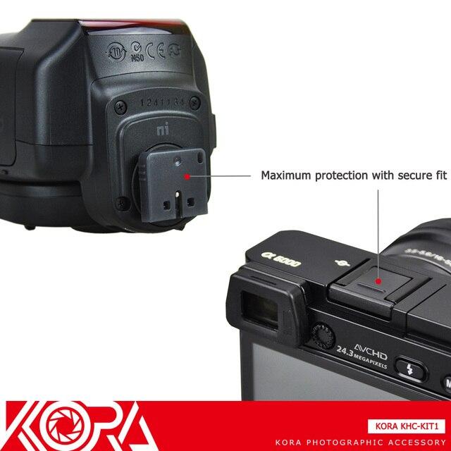 Kora Hot Shoe Cover For Sony A7RII A77II A7S A3500 A6000 RX10II RX100II RX1RII A7SII A6300 as FA-SHC1M MI Shoe Connector Cap