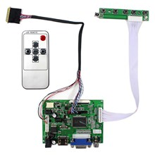 HD MI + VGA + 2AV LCD denetleyici kurulu VS TY2662 V1 için çalışmak B101AW03 1024x600 LCD ekran
