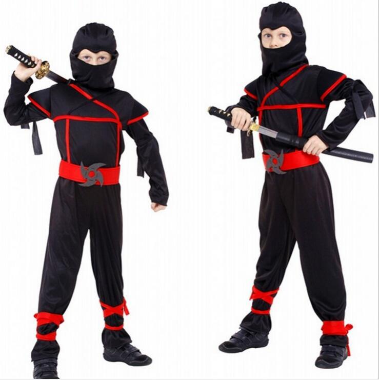 M XL Free shipping Fantasia Disfraces Boys Kids font b Naruto b font Ninja font b