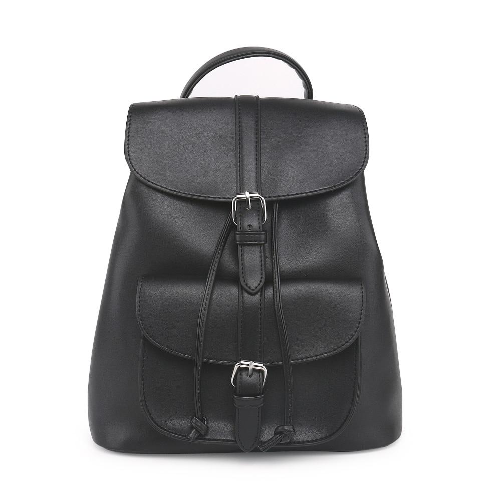 COOL WALKER Brand Preppy Style School Backpack PU Leather Fashion Women Backpacks Shoulder Bag High Quality Ladies Bags Designer