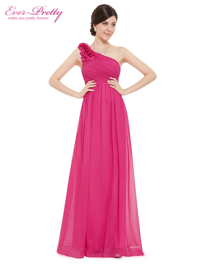Aliexpress buy bridesmaid dresses ever pretty ep08237 one aliexpress buy bridesmaid dresses ever pretty ep08237 one shoulder floral padded wedding party pregnant dress cheap bridesmaid dresses under 50 from ombrellifo Image collections