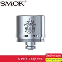 100 Original SMOK TFV8 X Baby RBA Tank Coil V8 Coil Head With Resistance 0 35ohm