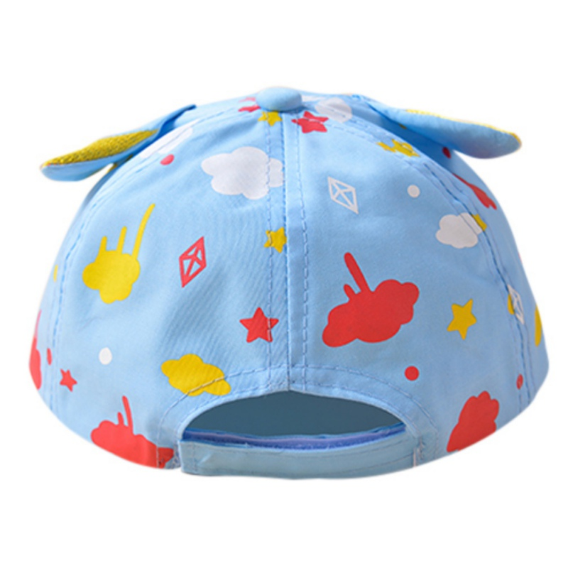 Summer Holiday Printed Cartoon Hat Princess Pot Cotton Newborn Babyboys And Babygril  Cap Sun Hat Kids Sun Hat-in Hats   Caps from Mother   Kids on ... 3ddc5b92d5fd