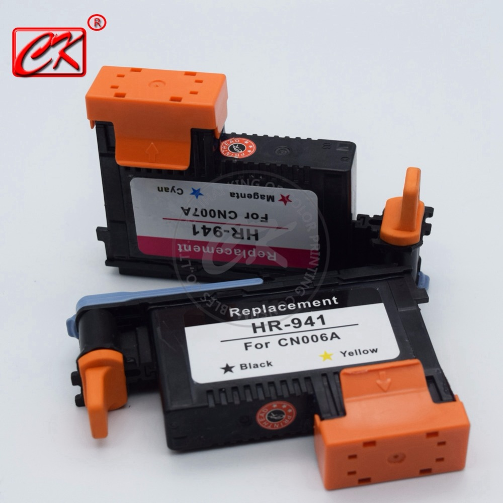 1 Set( cyan / magenta ,yellow / black) Remanufactured for HP941 Printhead CN006A CN007A for HP Officejet Pro 8000/8500