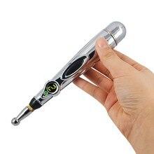 Yeni stimülatör LCD elektro akupunktur cihazı T.E.N.S. ve nokta dedektörü elektronik otomatik akupunktur iğnesi kalem
