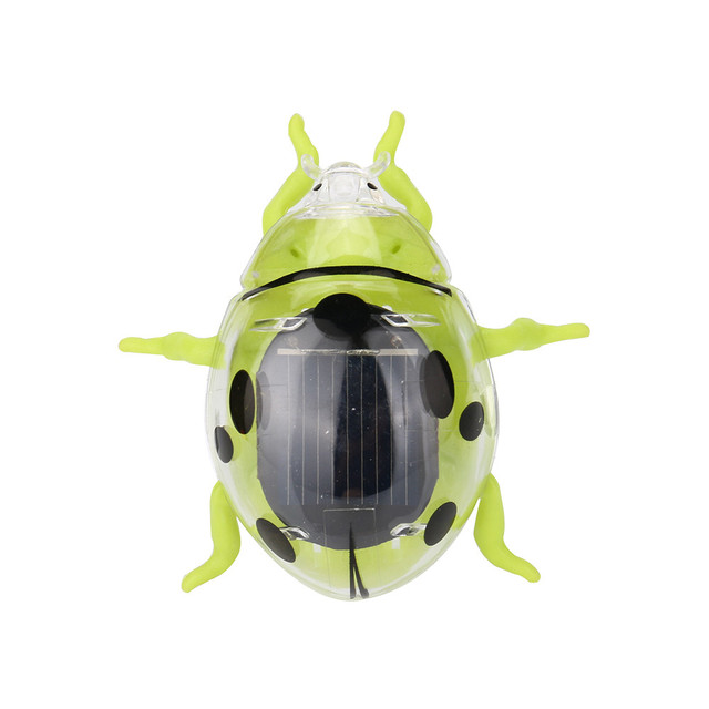Solar Toys Solar Powered Shaking Random Ladybug Toy For Kids Solar Energy Educational Toy Toy Gift  For Kids #40 4