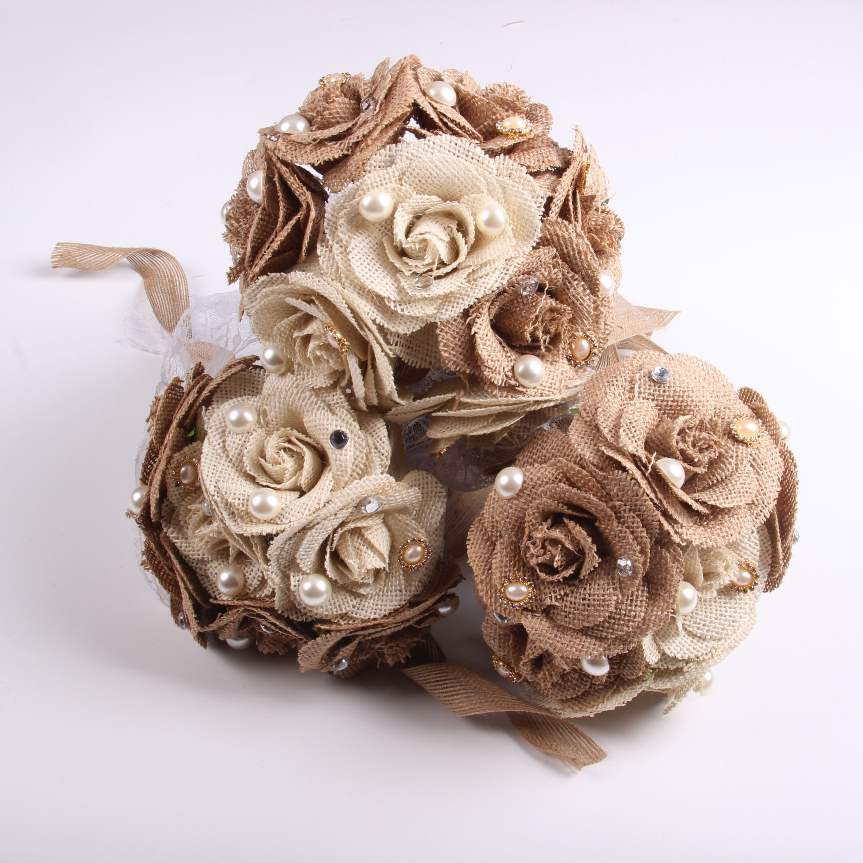 Wedding bridal flower bouquet home decoration mini silk artificial wedding bridal flower bouquet home decoration mini silk artificial rose flowers bouquet diy wedding decoration linen flower w in artificial dried izmirmasajfo